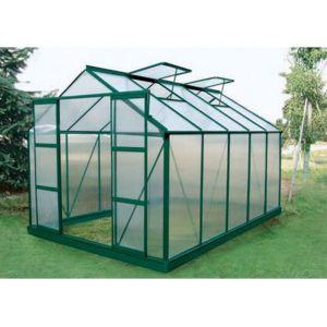 Corolle II - Serre de jardin en polycarbonate 9 m²