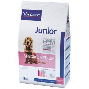 Virbac Junior Dog Special Medium - Sac 12 kg