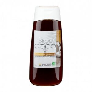 Comptoirs et Compagnies Sirop de fleurs de coco Bio 250 ml
