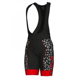 Alé Cycling Graphics PRR Agguato - Cuissard court Homme - rouge/noir XL Cuissards route