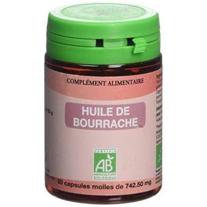 Graine sauvage Huile de Bourrache Bio Pilulier de 60 Gélules