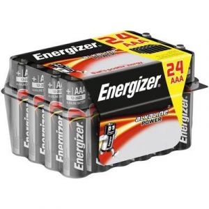 Image de Energizer Pile LR03 (AAA) alcalines Power LR03 1.5V x24