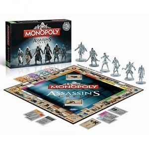 Winning Moves Monopoly Assassin's Creed