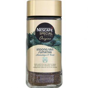 Nescafe Special filtre origins indonesian sumatra 95g