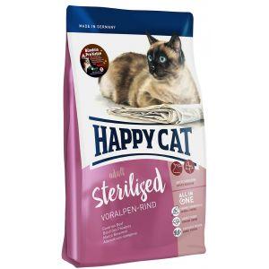 Happy cat 10kg Sterilised bœuf des Préalpes upreme - Croquettes pour Chat