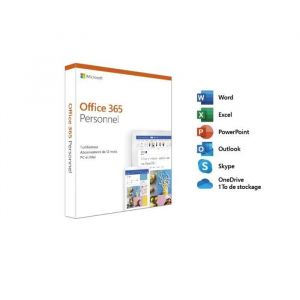 Image de Office 365 Personnel - 1 utilisateur (1 an) - Mac/PC [Windows]
