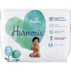 Pampers Harmonie - Couches taille 3 géant