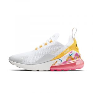 Nike Chaussure Air Max 270 SE Floral pour Femme - Blanc - Taille 36.5