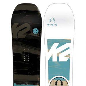 K2 Sports Www Wide Rouge - Planche de Snowboard Homme  f