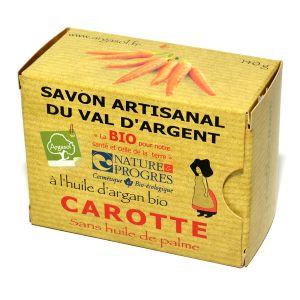 Argasol Savon bio carotte 140g