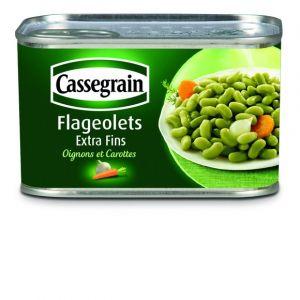 Cassegrain Flageolets extra-fins cuisinés - La boîte de 265g