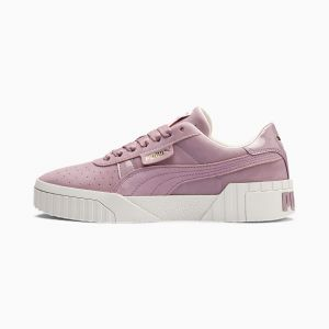 Puma Cali Nubuck Wn's, Sneakers Basses Femme, Violet