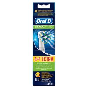 Oral-B EB504+1 - 4+1 brossette et canule dentaires Cross Action