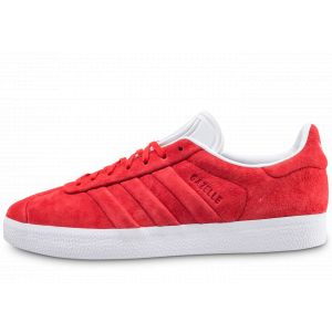 Adidas Gazelle Stitch and Turn Homme, Rouge (Rojuni/Ftwbla 000), 46 EU