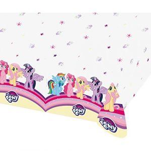 Amscan MY LITTLE PONY Nappe - 120 x 180 cm - Idéale pour un goûter d'anniversaire !