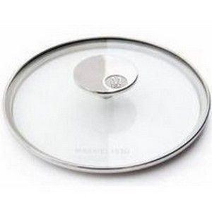 Mauviel1830 5318.26 - Couvercle M'360 en verre bordure inox 26 cm
