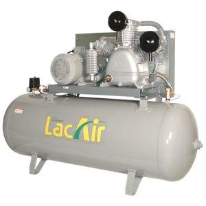 Lacme FixAir 80/500 - Compresseur fixe à courroie triphasé 80 m³/h sur cuve 500 litres (465821)