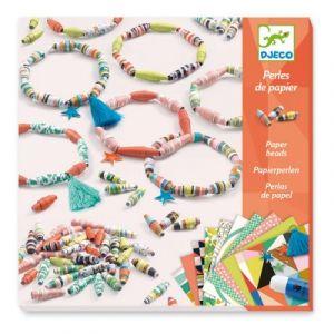 Djeco Set perles de papier Bracelets de printemps