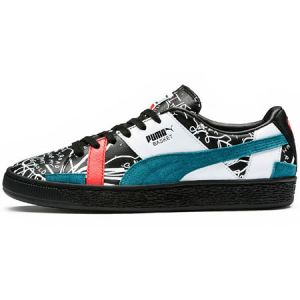 Puma Basket Graphic Sm W chaussures black/dragonfly 38,5 EU