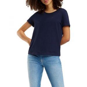 Tommy Hilfiger T-Shirt Soft Jersey marine (DW0DW05938)