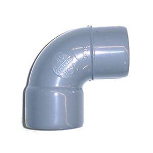 Wavin Coude Mâle Femelle PVC 87°30 Diamètre 50 mm