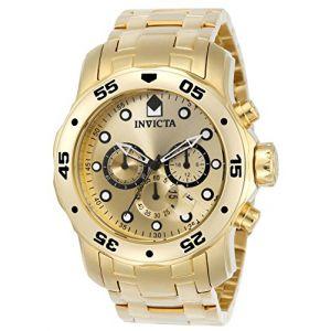 Invicta Scuba Pro Diver Chronograph Montre chronographe 0074 acier ...