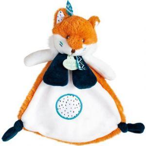 Doudou et Compagnie Doudou naissance twipi renard 23 cm Orange - Taille Taille Unique