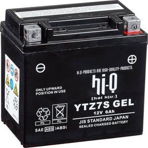 Hi-Q Batteries et chargeurs Gel Battery Mg7zs/auch Ytz7s/ytz6s