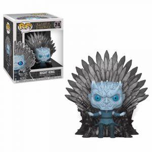 Funko Figurine Game Of Thrones - Night King On Iron Throne Oversized 15cm