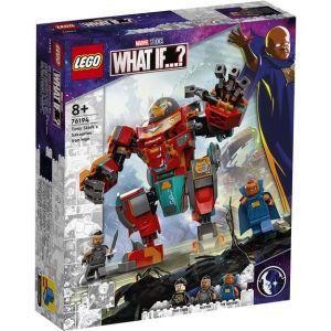 Lego 76194 Marvel L'Armure Sakaarienne d'Iron Man de Tony Stark, Figurine Marvel pour Enfants âgés de 8 ans et plus