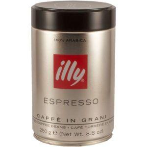 illy Café en grain - Torréfaction foncée - 6x250g