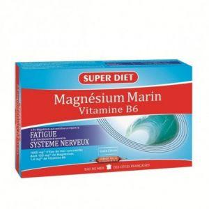 Super Diet Magnésium Marin + Vitamine B6 - 20 ampoules