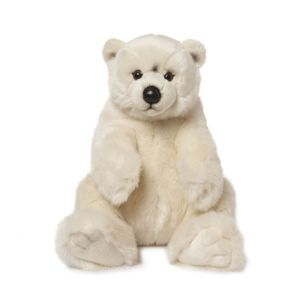 WWF Peluche Ours polaire assis 47 cm