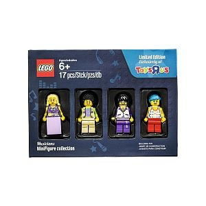 Lego Coffret de 4 figurines Collector Les musiciens