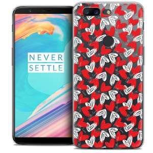 CaseInk Coque OnePlus 5T (6 ) Extra Fine Love With Love