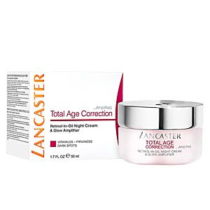 Lancaster Total Age Correction Amplified Retinol-in-Oil Night Cream & Glow Amplifier SPF 15 (50ml)