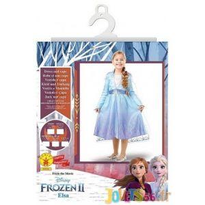 Rubie's Déguisement Elsa La Reine des neiges 2 - Taille 5 à 6 ans (105 à 116 cm)
