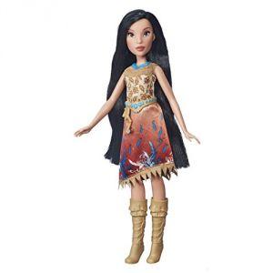 Hasbro Poupée Pocahontas Disney Princesses Poussière d'étoiles