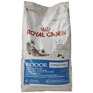 Royal Canin Croquettes pour chat à poils longs - Intérieur - 10 kg