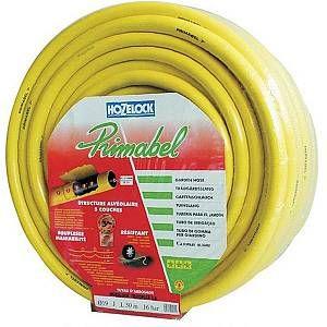 Hozelock tuyau d-arrosage souple multicouche diamètre 15 longueur 25m jaune réf 116381