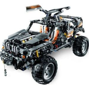lego 8297 technic 4x4 motoris comparer avec. Black Bedroom Furniture Sets. Home Design Ideas