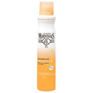 Le Petit Marseillais Déodorant Soin Douceur 24h - Huile abricot - spray 200 ml