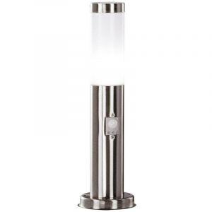 Globo Lampadaire LED 9,5W luminaire extérieur détecteur mouvement senseur jardin balcon