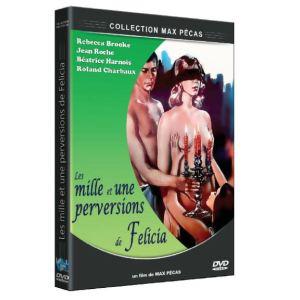 DVD - réservé Mille & une perversion de Felicia