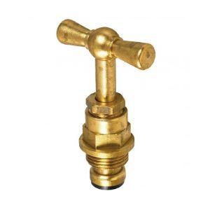 Tête de robinet filetage 12x17mm diamètre 10mm