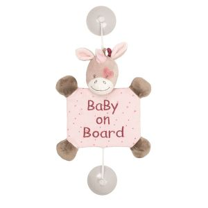 Nattou Baby on Board Jade la licorne