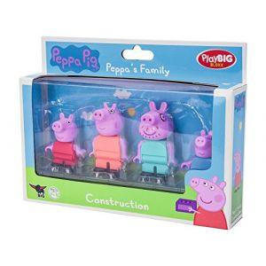 Big PlayBIG Bloxx Famille Peppa Pig - 4 figurines