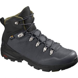 Salomon Outback 500 Gtx Ebony / Black / Grape Leaf 46