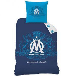 Cti Parure housse de couette réversible Olympique Marseille (140 x 200 cm)