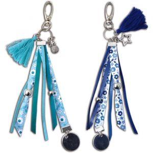 Toga Kit pour 2 gri-gris - argent/liberty/bleu